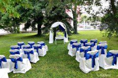 Сватбена арка, изнесен ритуал