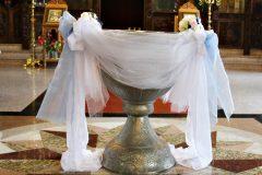 украса за купел за кръщене