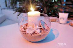 Сватбена декорация морска тема