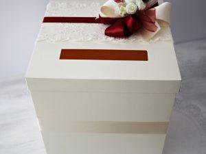 Кутия за пари и пожелания Дивна - бордо