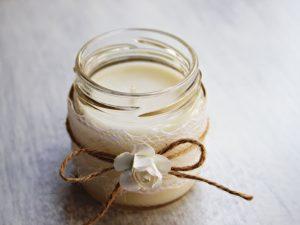 Подарък за гости Ароматна свещ - Рустик Цена 4.00 лв.
