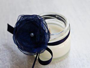 Подарък за гости свещ в бурканче - Чар