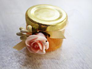 Подарък за гости Мед - роза Цена 2.50 лв.