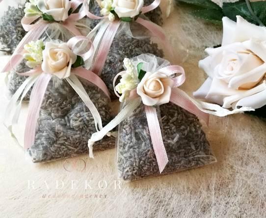 Подарък за гости Ароматна торбичка Лавандула