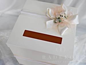 Сватбена кутия за пари и пожелания