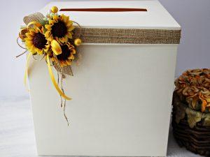 Кутия за пари и пожелания Слънчоглед