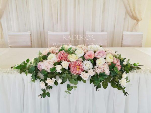 Украса за младоженска маса