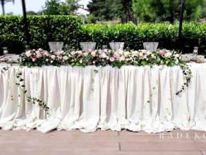 Сватбена украса Rustic style